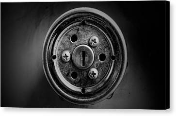 Keyhole  Canvas Print by Del Martinez