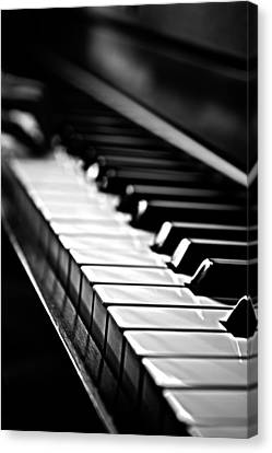 Music Inspired Art Canvas Print - Keys Of Life by James Serikov