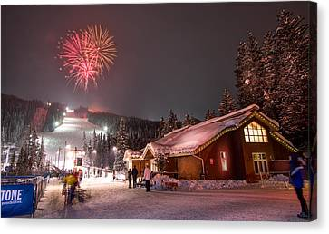 Keystone Resort Fireworks Canvas Print