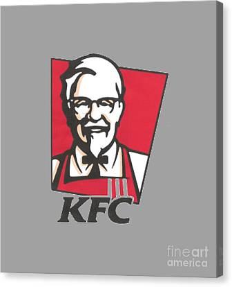 Kfc T-shirt Canvas Print