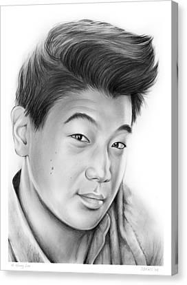 Ki Hong Lee Canvas Print by Greg Joens