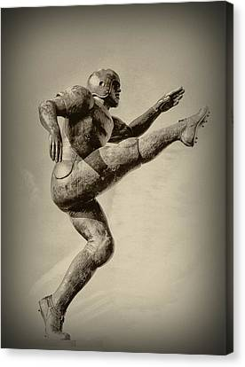 Kick Off Canvas Print by Bill Cannon