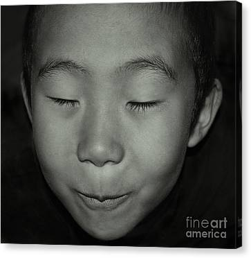 Kid From Beijing  Canvas Print