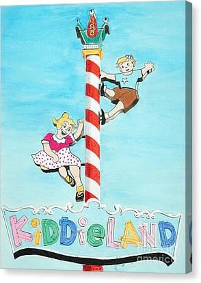 Kiddie Land Canvas Print