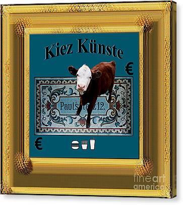 Kiez Kunste Canvas Print by Geordie Gardiner
