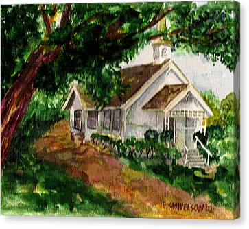 Kihei Chapel Canvas Print by Eric Samuelson