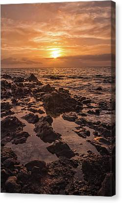 Kihei Sunset 2 - Maui Hawaii Canvas Print by Brian Harig