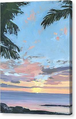 Kihei Sunset Canvas Print