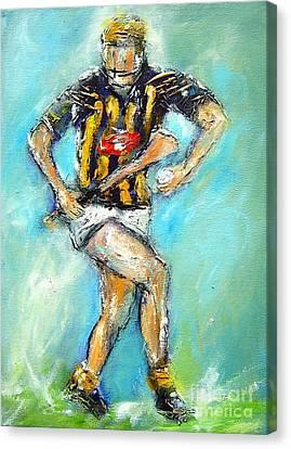 Kilkenny Hurling Star Canvas Print