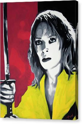 Hong Kong Canvas Print - Kill Bill 2013 by Hood alias Ludzska