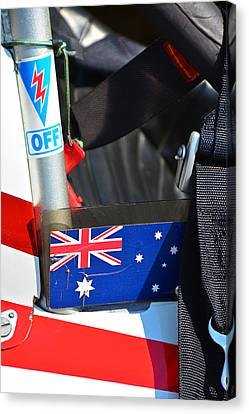 Kill Switch Australian Race Car Canvas Print by Mike Martin