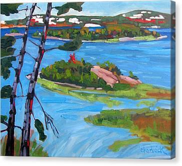 Killarney Bay White Pines Canvas Print