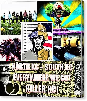 Killer Kc Canvas Print