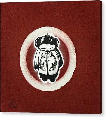 Kimono Canvas Print by Konrad Geel