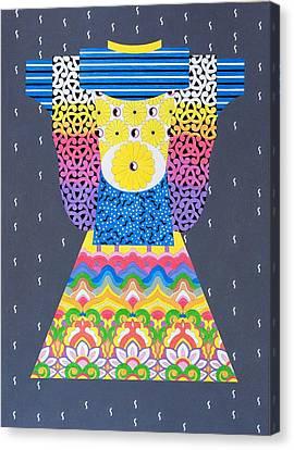 Kimono Canvas Print by Thomas Gronowski