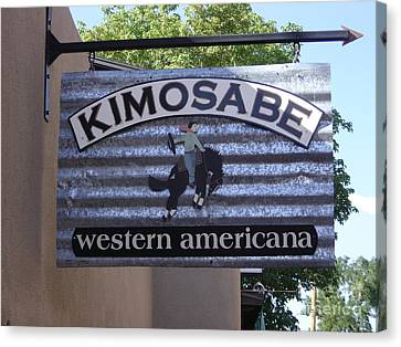 Kimosabe Canvas Print by Mary Rogers