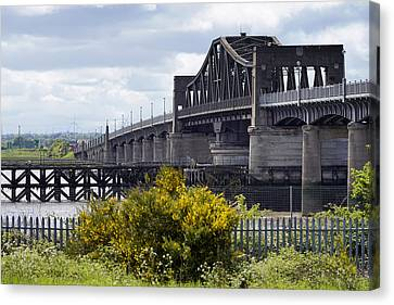 Canvas Print featuring the photograph Kincardine Bridge by Jeremy Lavender Photography