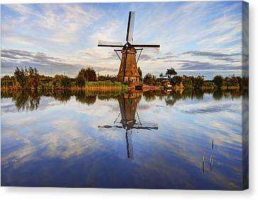Kinderdijk Canvas Print by Chad Dutson
