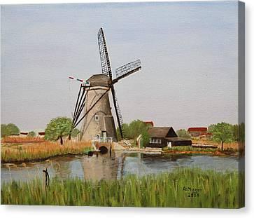 Kinderdijk Classic Canvas Print by Alan Mager