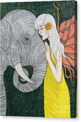 Kindred Souls Canvas Print by Natalie Briney