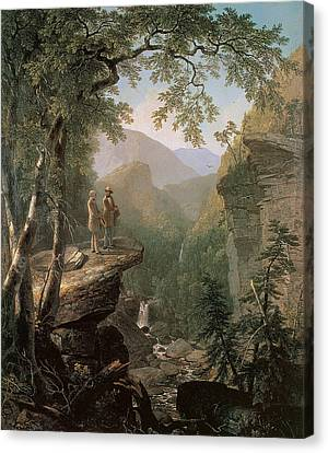 Early Canvas Print - Kindred Spirits by Asher Brown Durand