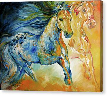 Canvas Print - Kindred Spirits  by Marcia Baldwin