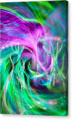 Kinetic Canvas Print by Az Jackson