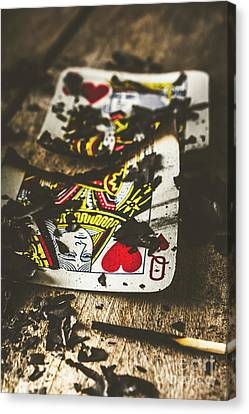 King And Queen Of Broken Hearts Canvas Print by Jorgo Photography - Wall Art Gallery