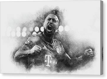 King Arturo Canvas Print by Robert Barsby