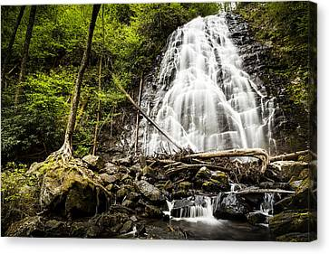 Crabtree Falls - Blue Ridge Parkway North Carolina Canvas Print
