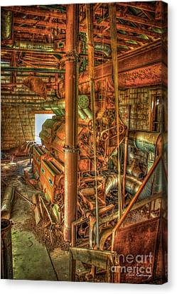 King Cotton Gin Cotton Gin Art Canvas Print by Reid Callaway