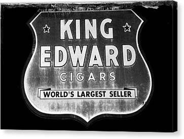 King Edward Cigars Canvas Print by David Lee Thompson