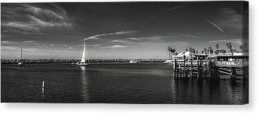 King Harbor By Mike-hope Canvas Print