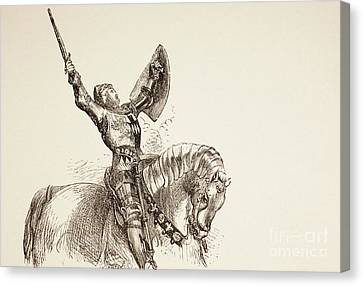 Armor Canvas Print - King Henry Iv, Part One, 1890  by English School
