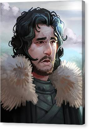 King In The North Canvas Print by Michael Myers