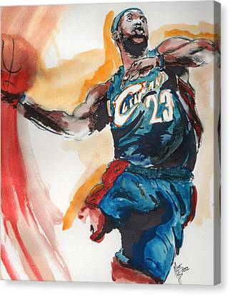 King James Canvas Print by Matt Burke