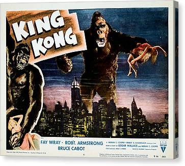 King Kong, Fay Wray, 1933 Canvas Print by Everett