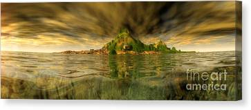 King Kongs Island Canvas Print