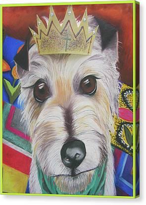 King Louie Canvas Print by Michelle Hayden-Marsan