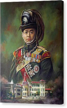 King Mongkut Canvas Print