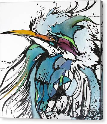 King Canvas Print by Nicole Gaitan