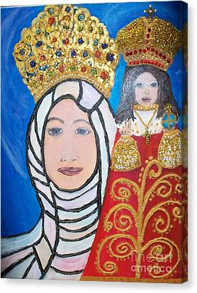 King Of Kings And The Queen Mother Canvas Print by Seaux-N-Seau Soileau