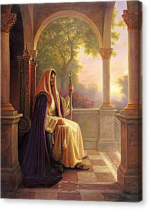 King Of Kings Canvas Print by Greg Olsen
