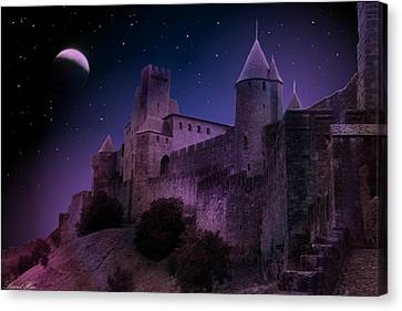Canvas Print featuring the photograph King Of My Castle by Bernd Hau