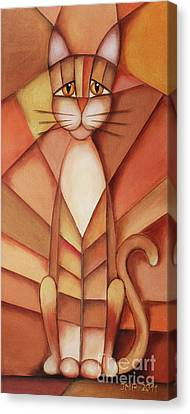 King Of The Cats Canvas Print by Jutta Maria Pusl
