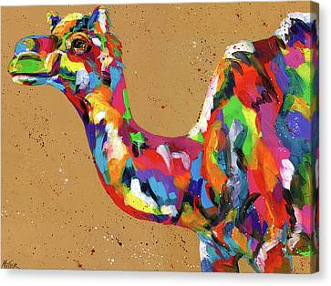 King Of The Desert Canvas Print by Tracy Miller