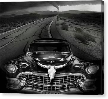 King Of The Highway Canvas Print by Larry Butterworth