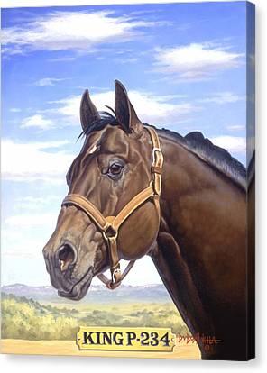 King P234 Canvas Print by Howard Dubois