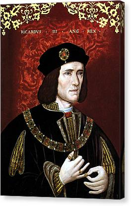 King Richard IIi Of England Canvas Print by War Is Hell Store