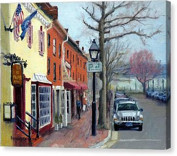 King Street Canvas Print